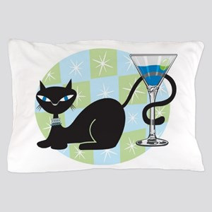 Cocktail Kitty Pillow Case