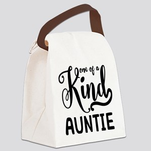One of a kind Auntie Canvas Lunch Bag