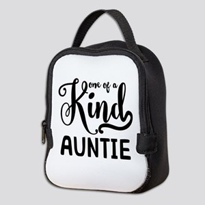 One of a kind Auntie Neoprene Lunch Bag