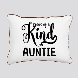 One of a kind Auntie Rectangular Canvas Pillow