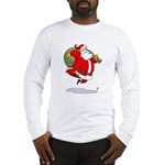Bouncy Santa Long Sleeve T-Shirt