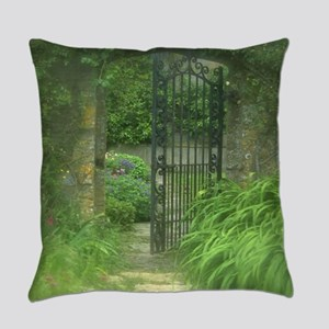 Garden Gate Everyday Pillow
