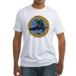 USS BRISTER Fitted T-Shirt