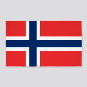 Flag of Norway Area Rug