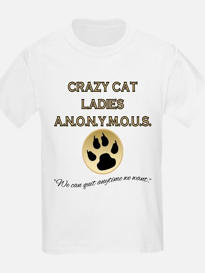 Crazy Cat Ladies Anonymous T-Shirt