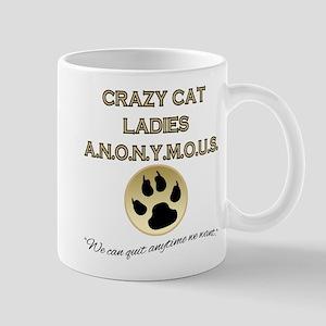 Crazy Cat Ladies Anonymous Mug