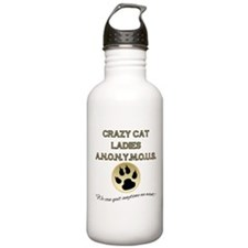 Crazy Cat Ladies Anony Stainless Water Bottle 1.0L