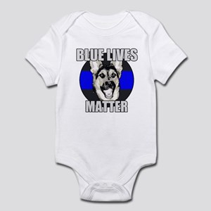 Blue Lives Matter Infant Bodysuit