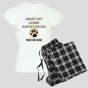 Custom Crazy Cat Ladies Women's Light Pajamas