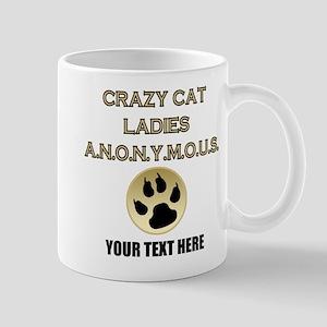 Custom Crazy Cat Ladies Mug