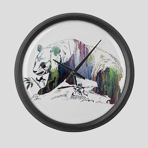 Panda Large Wall Clock