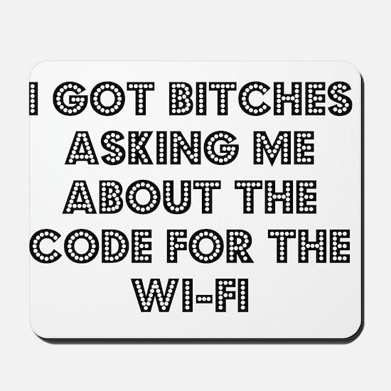 Wifi Mousepad