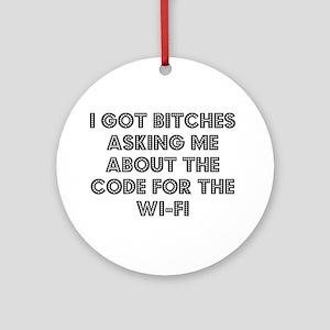 Wifi Round Ornament