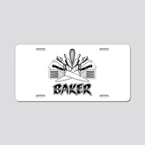 Culinary Arts: Baker Aluminum License Plate