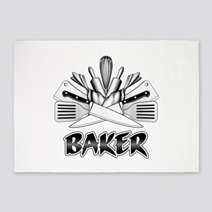 Culinary Arts: Baker 5'x7'Area Rug