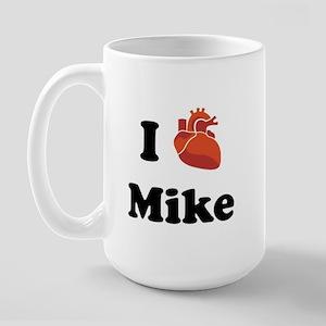 I (Heart) Mike Large Mug