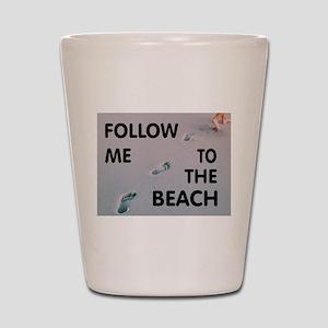 BEACH Shot Glass