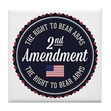 Second Amendment Tile Coaster