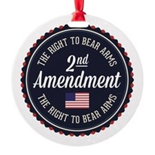 Second Amendment Ornament