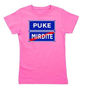 Puke, Albania Girl's Tee