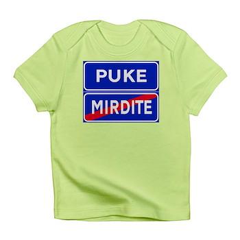 Puke, Albania Infant T-Shirt