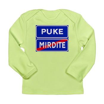 Puke, Albania Long Sleeve Infant T-Shirt