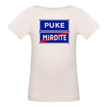 Puke, Albania Organic Baby T-Shirt