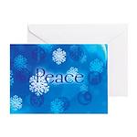 Happy Holidays Peace Greeting Card