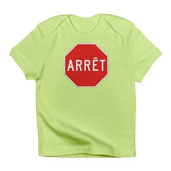 Stop, Quebec (CA) Infant T-Shirt