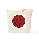 Red Pattern 003 Tote Bag