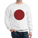 Red Pattern 003 Sweatshirt