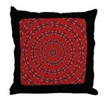 Red Pattern 003 Throw Pillow