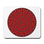 Red Pattern 003 Mousepad
