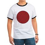 Red Pattern 003 Ringer T