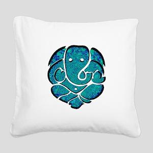 GANESH Square Canvas Pillow
