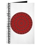 Red Pattern 003 Journal