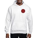 Red Pattern 003 Hooded Sweatshirt