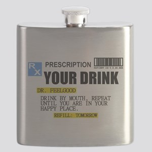 Personalize Prescription Drink Flask