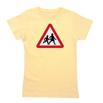 Children Crossing, UK Girl's Tee