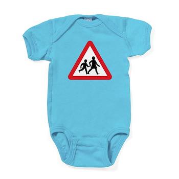 Children Crossing, UK Baby Bodysuit