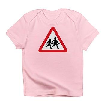 Children Crossing, UK Infant T-Shirt