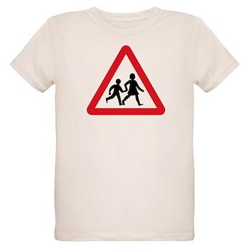 Children Crossing, UK Organic Kids T-Shirt