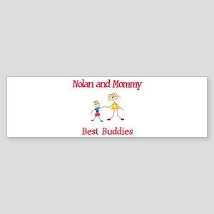 Nolan & Mommy - Buddies Bumper Sticker
