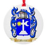 Marten Round Ornament
