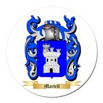Martell Round Car Magnet