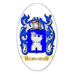 Martell Sticker (Oval 50 pk)
