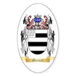 Marszal Sticker (Oval 50 pk)