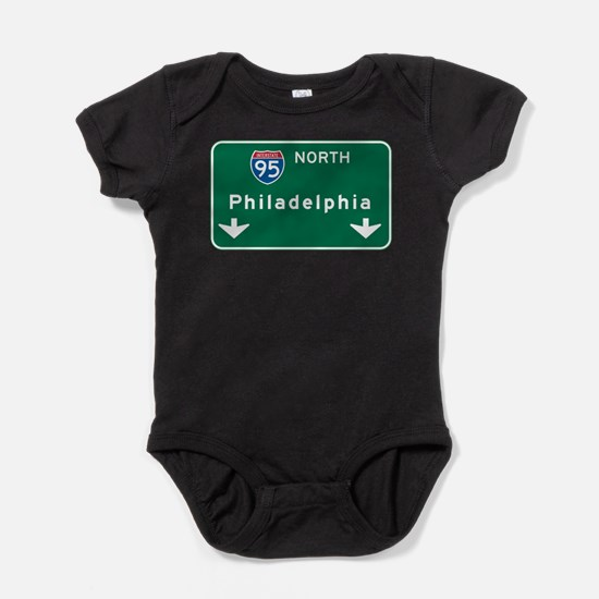Cute Us cities Baby Bodysuit