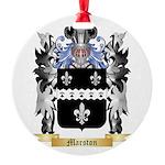 Marston Round Ornament