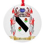 Marsik Round Ornament